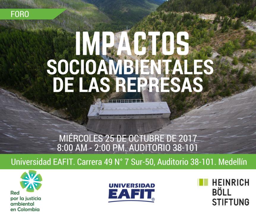 Foro en Medellín: Impactos socioambientales de lasrepresas