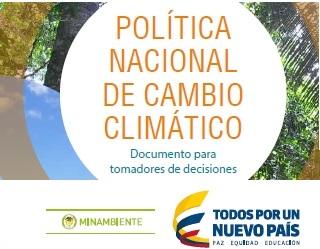 Política Nacional de Cambio Climático de Colombia(2017)