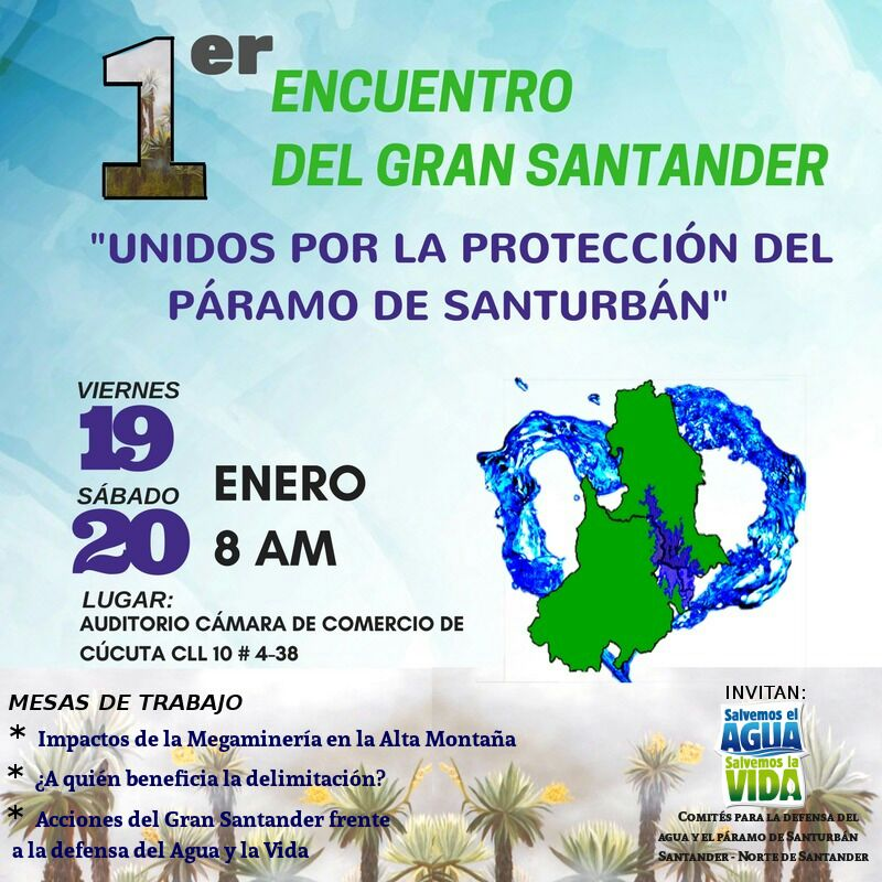 Primer encuentro del Gran Santander, unidos por la protección deSanturbán