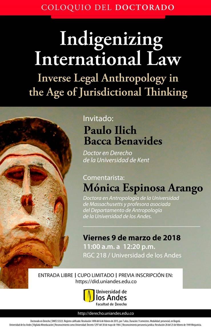 evento derecho indigena