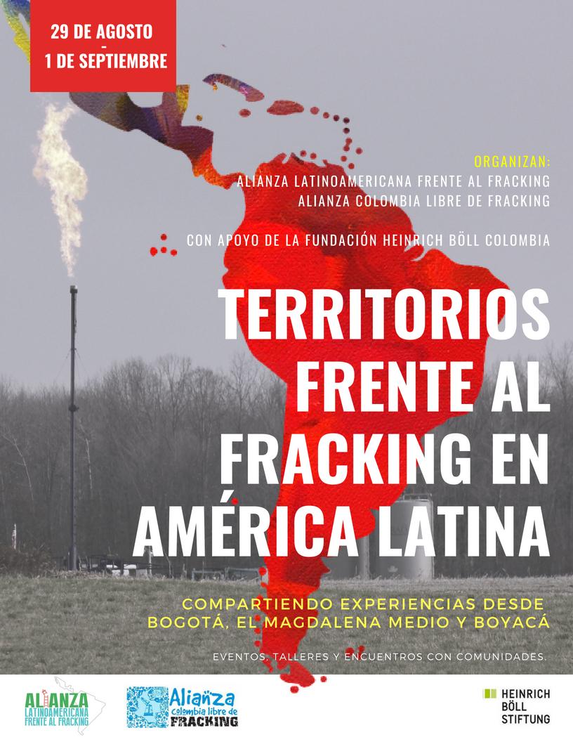 Territorios Frente al Fracking en AméricaLatina.