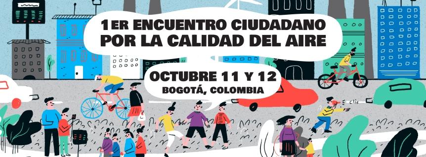 Convocatoria para participar en el 1er Encuentro ciudadano por la calidad delaire